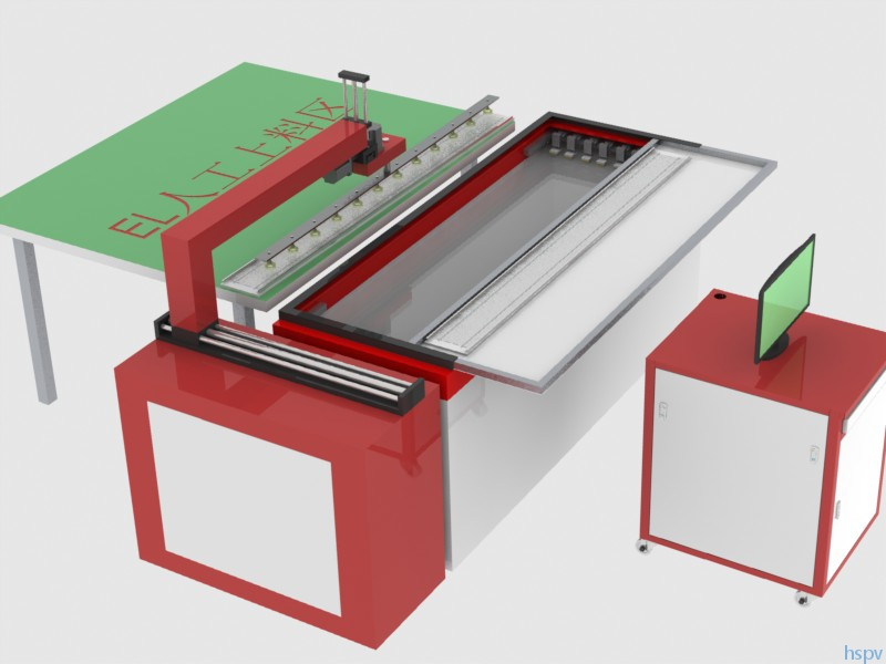 HSEL03 全自动太阳电池EL串缺陷检测仪